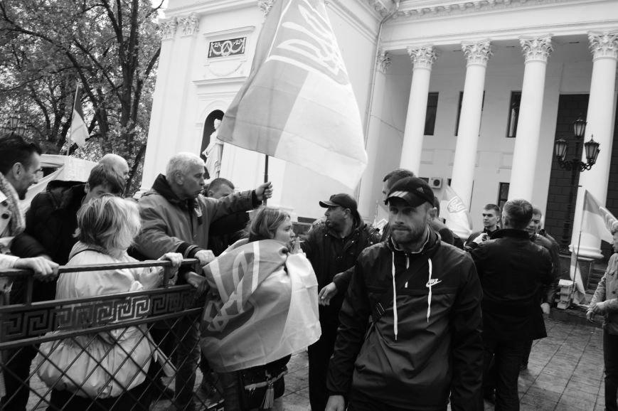 3b7364dc8989121d0afe3c718dfa7f0e Полиция с титушками на службе у мэрии: Как в Одессе разгоняли мирный протест