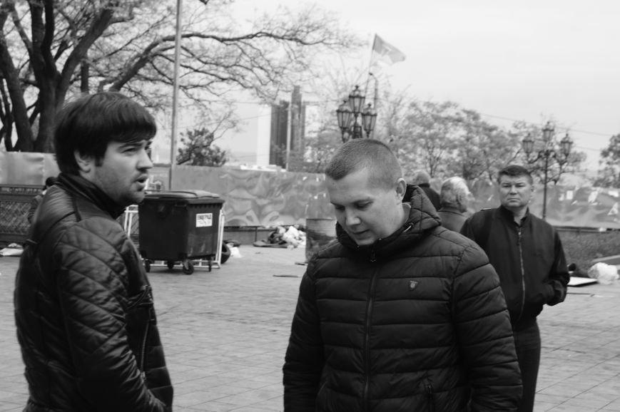 491bb3bd7e88dc0a841ecbedd9780c8a Полиция с титушками на службе у мэрии: Как в Одессе разгоняли мирный протест