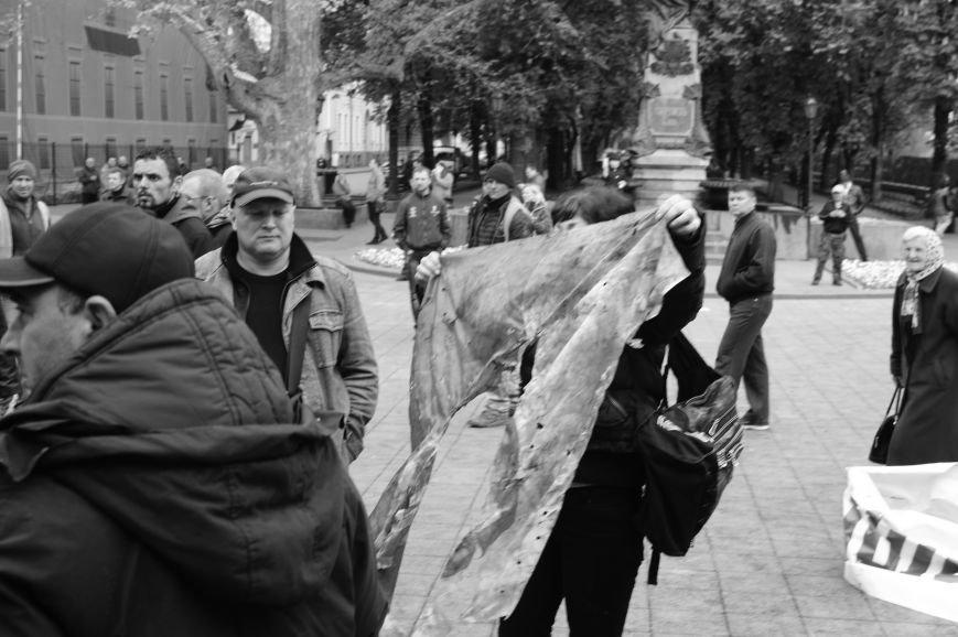 60983519f7ae201e2fff6f8686031344 Полиция с титушками на службе у мэрии: Как в Одессе разгоняли мирный протест