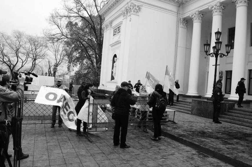 929bd8c481e4ce5d883b82520c2af937 Полиция с титушками на службе у мэрии: Как в Одессе разгоняли мирный протест