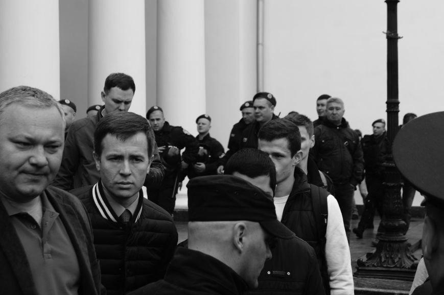 9fdc25b663a865ac128eb801fbc61a9c Полиция с титушками на службе у мэрии: Как в Одессе разгоняли мирный протест