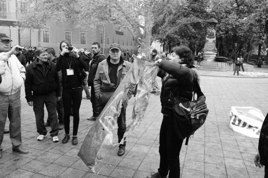 ba30d8293e6cda24db355a7821e6736b Полиция с титушками на службе у мэрии: Как в Одессе разгоняли мирный протест
