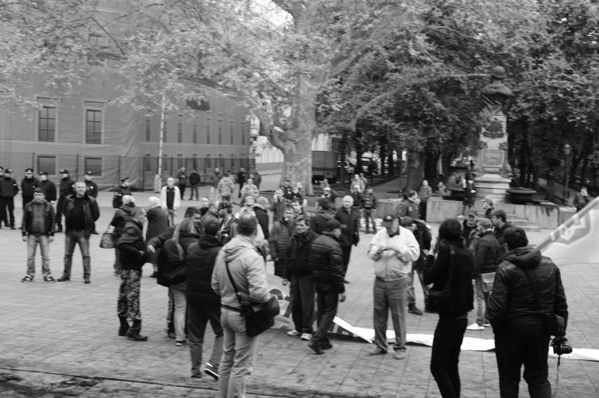 f84a3d42978b3b9fd2522722af856c3b Полиция с титушками на службе у мэрии: Как в Одессе разгоняли мирный протест