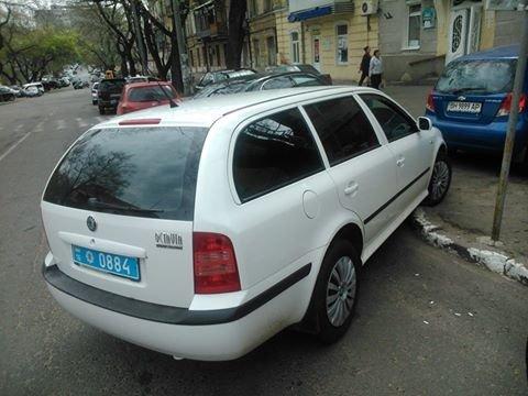5fe198e9ce8ef3a57e6401205221d4d6 Фотоподборка: Как в Одессе паркуется полиция