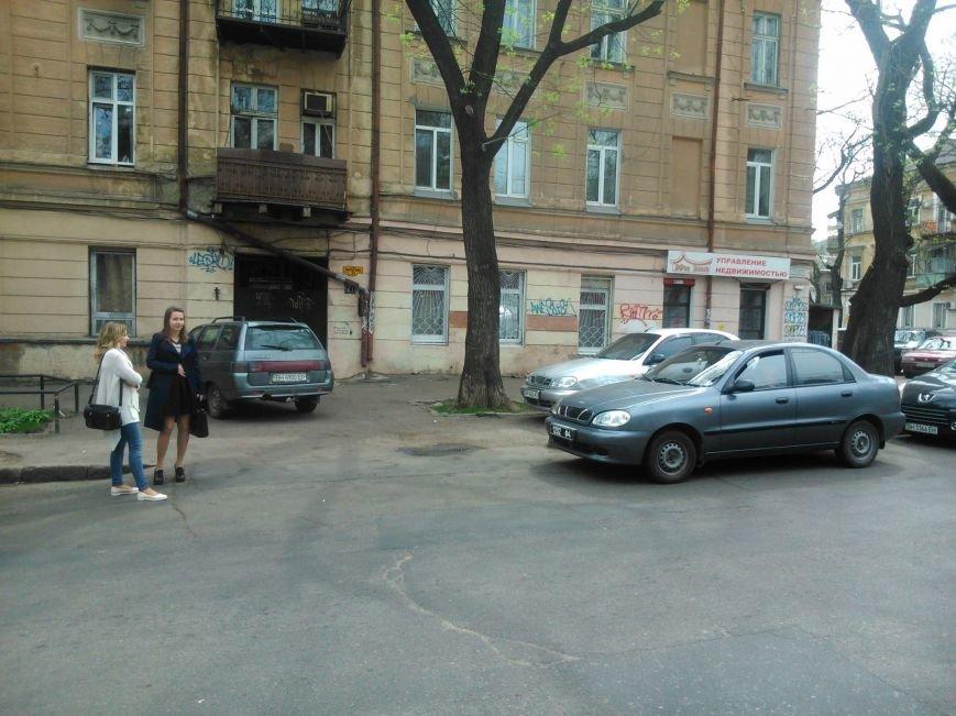 8ffdc11cfca9f942f0977bb3de31cd5e Фотоподборка: Как в Одессе паркуется полиция