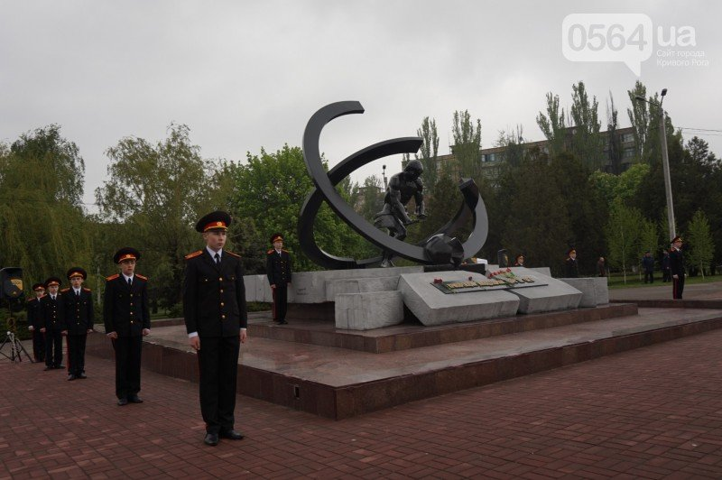 В Кривом Роге почтили память ликвидаторов Чернобыльской аварии (ФОТО), фото-2