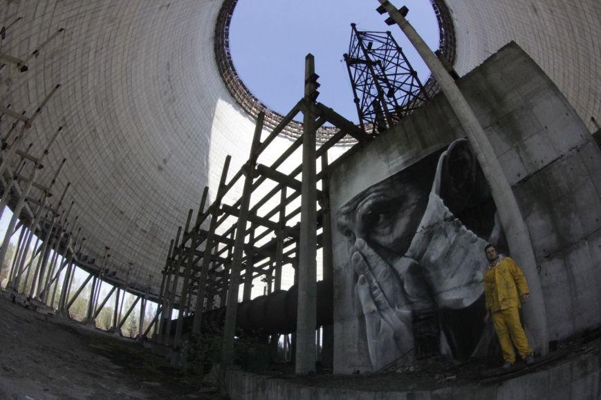 Внутри реактора ЧАЭС появился мурал (ФОТО) (фото) - фото 3