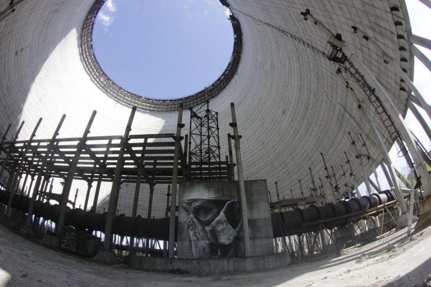 Внутри реактора ЧАЭС появился мурал (ФОТО) (фото) - фото 1