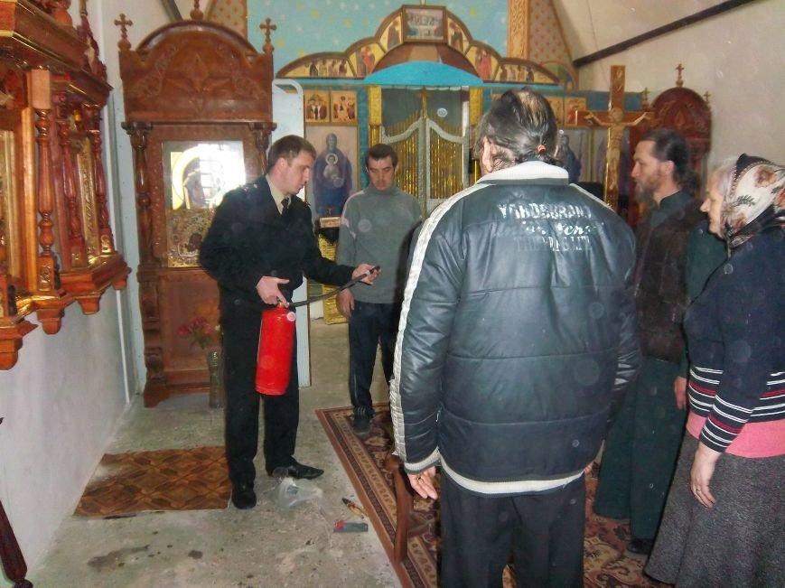 Спасатели Черноморска напомнили правила пожарной безопасности во время празднования Пасхи, фото-1