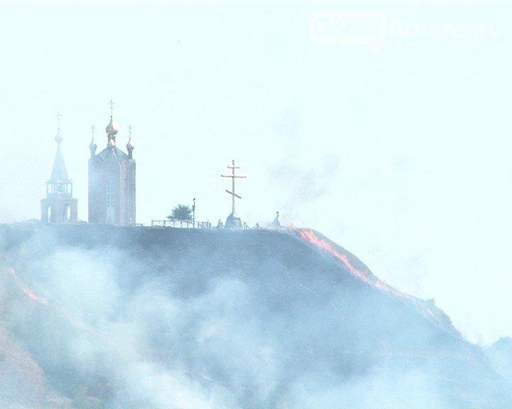 Армавир вошел в число муниципалитетов края с наибольшим количеством пожаров (фото) - фото 1