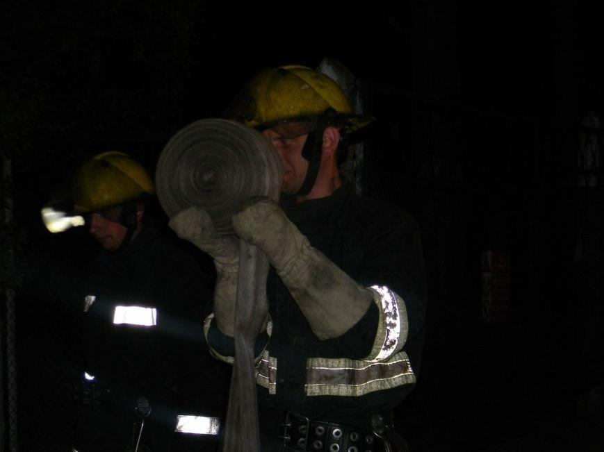 В Каховке ликвидирован пожар на насосной станции (Фото) (фото) - фото 1