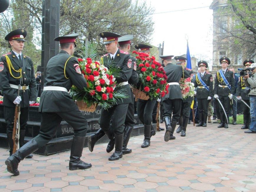 260cb8ec2a57e45c187f0dc378f79e88 В Одессе почтили память погибших ликвидаторов аварии на Чернобыльской АЭС