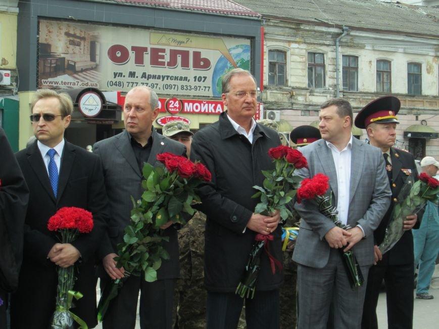 62d1431f2cc95cc832630bdd962afcdc В Одессе почтили память погибших ликвидаторов аварии на Чернобыльской АЭС