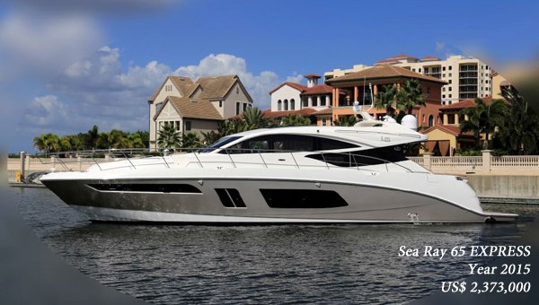 2015 Sea Ray 65 EXPRESS