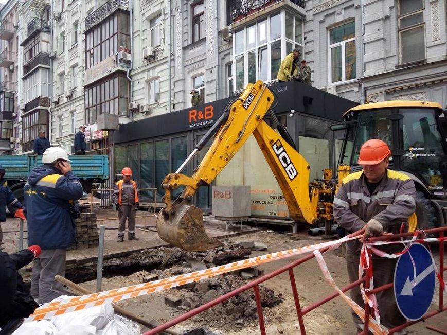 На Бессарабке демонтируют скандальную пристройку (ФОТО), фото-2