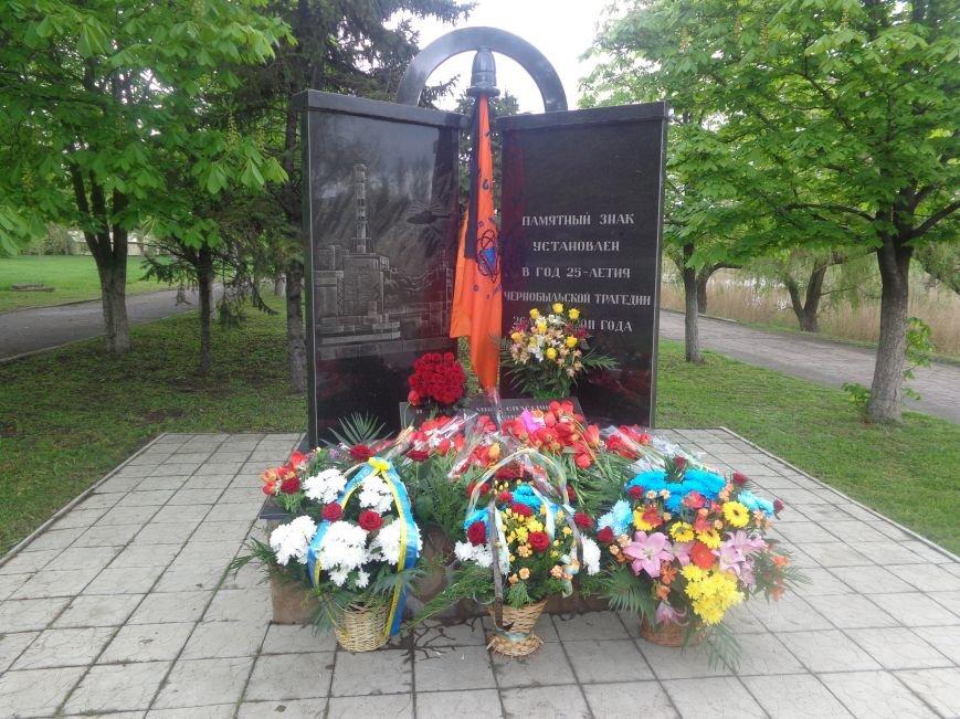 В Красноармейске (Покровске) торжественно почтили светлую память жертв и героический подвиг ликвидаторов аварии на Чернобыльской АЭС (фото) - фото 13