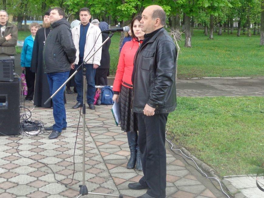 В Красноармейске (Покровске) торжественно почтили светлую память жертв и героический подвиг ликвидаторов аварии на Чернобыльской АЭС (фото) - фото 9