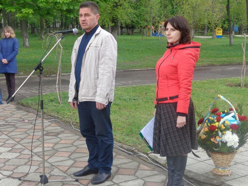 В Красноармейске (Покровске) торжественно почтили светлую память жертв и героический подвиг ликвидаторов аварии на Чернобыльской АЭС (фото) - фото 8