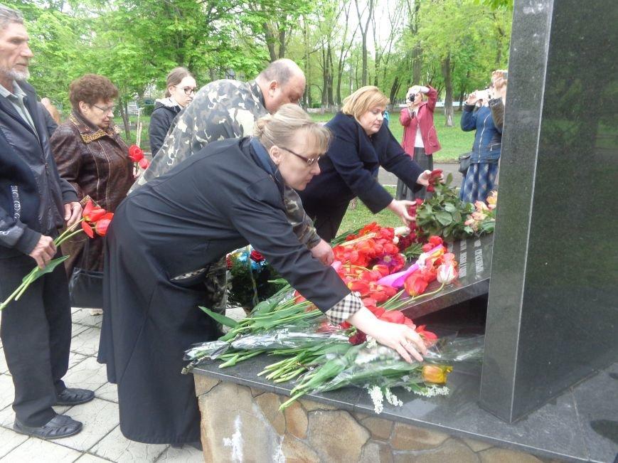 В Красноармейске (Покровске) торжественно почтили светлую память жертв и героический подвиг ликвидаторов аварии на Чернобыльской АЭС (фото) - фото 12