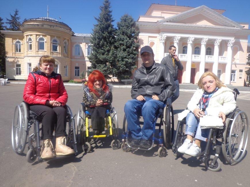 Городское общество инвалидов отпраздновало юбилей вдохновителя клуба «Прометей» (фото) - фото 1