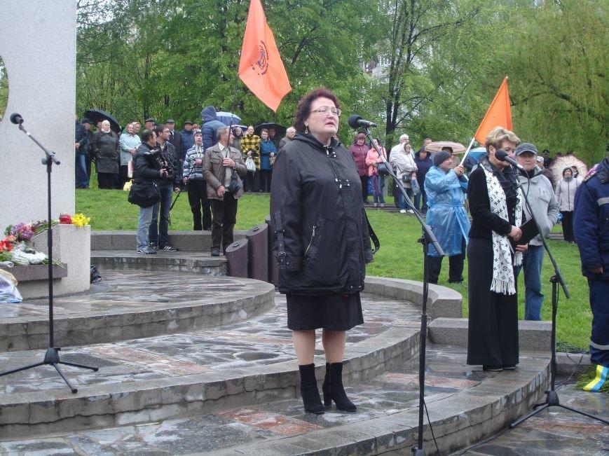Чорнобильська катастрофа: мітинг-реквієм у Білій Церкві (фото) - фото 8