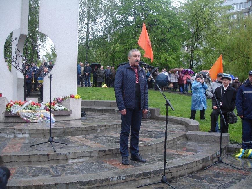 Чорнобильська катастрофа: мітинг-реквієм у Білій Церкві (фото) - фото 5