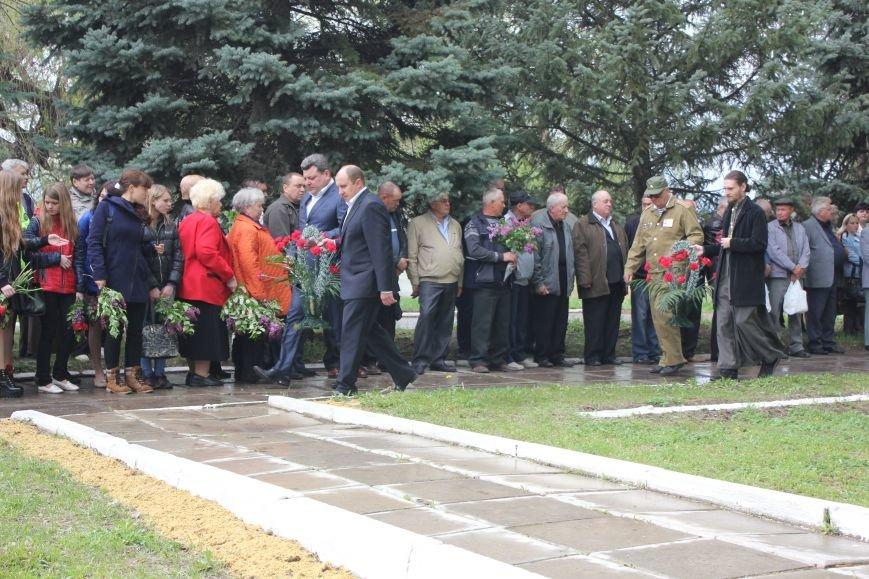 В Бахмутском районе почтили ликвидаторов Чернобыльской трагедии, фото-5