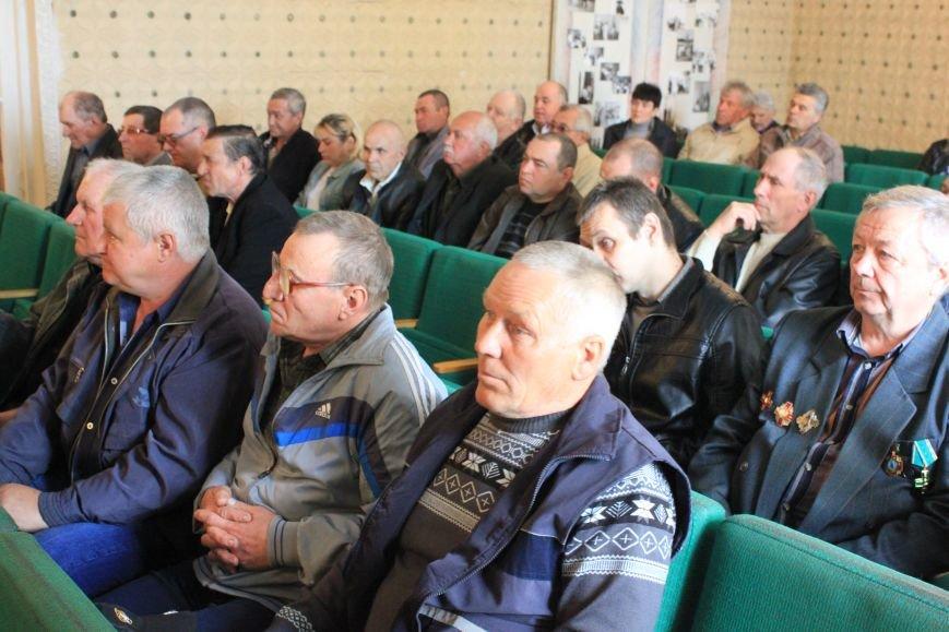В Бахмутском районе почтили ликвидаторов Чернобыльской трагедии, фото-2