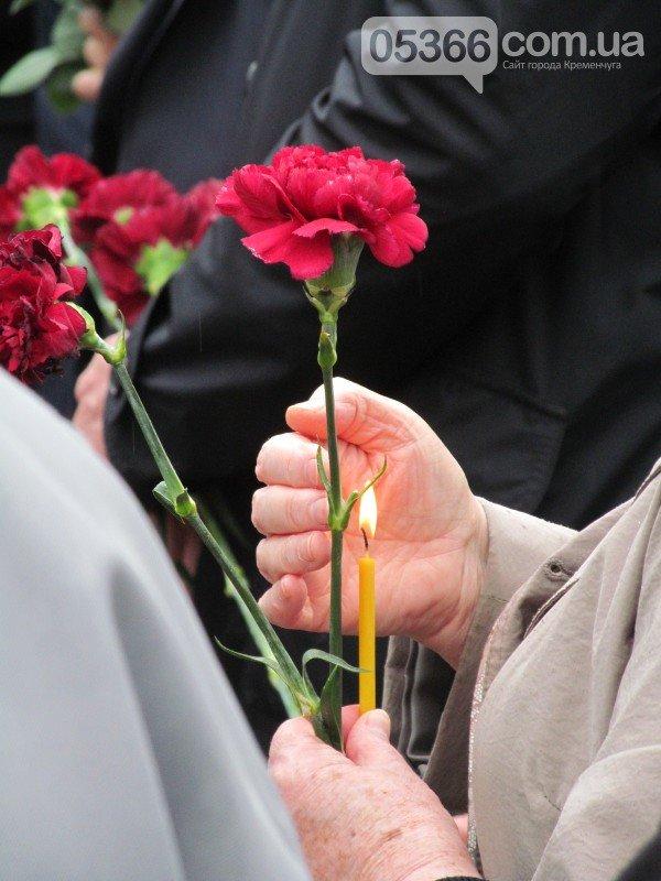 Природа скорбела вместе с кременчужанами во время митинга-реквиема, посвящённого 30-летию Чернобыльской трагедии (ФОТО), фото-1