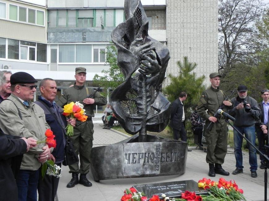 Митинг-реквием в память о Чернобыле прошел в Бердянске (фото) - фото 4
