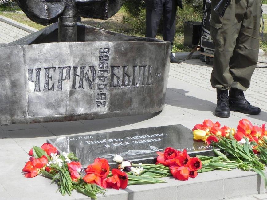Митинг-реквием в память о Чернобыле прошел в Бердянске (фото) - фото 5