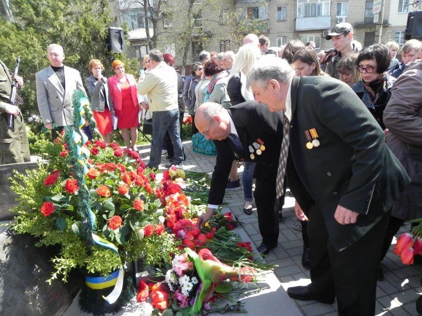 Митинг-реквием в память о Чернобыле прошел в Бердянске (фото) - фото 11