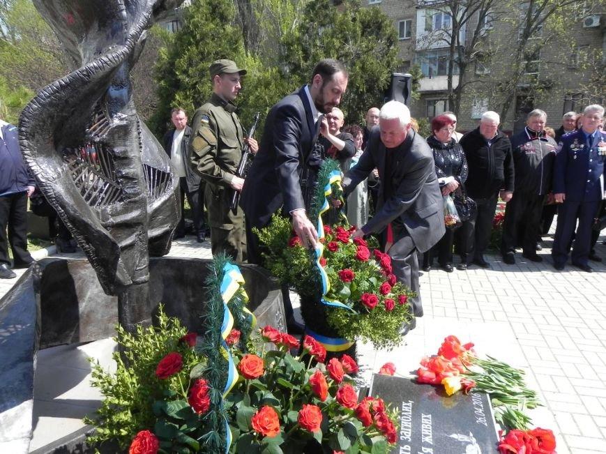 Митинг-реквием в память о Чернобыле прошел в Бердянске (фото) - фото 10