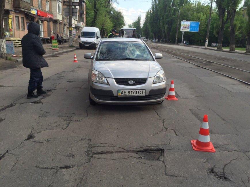 BMW столкнулся с такси DAEWOO Lanos, а Kia Rio сбила мужчину (фото) - фото 6