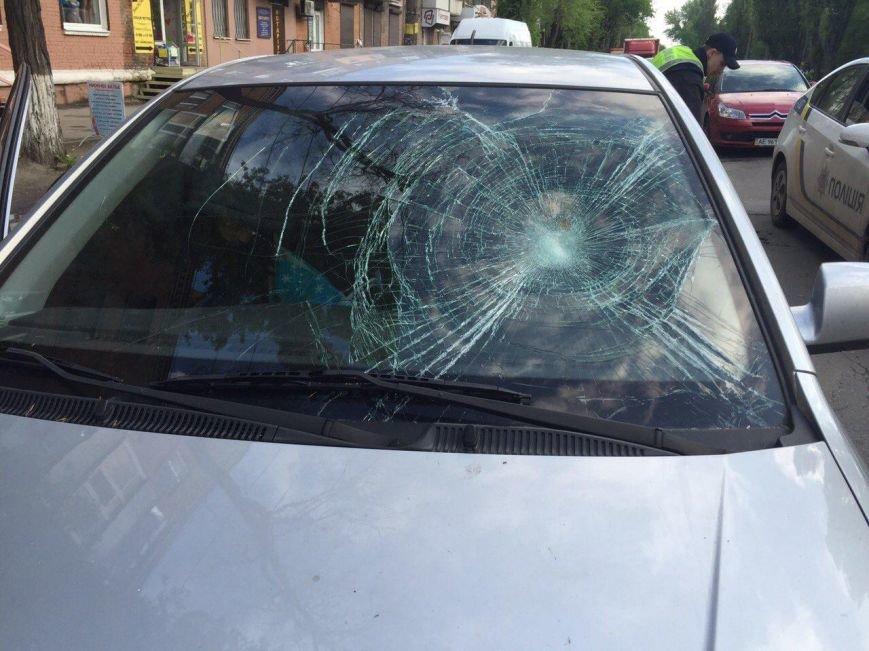 BMW столкнулся с такси DAEWOO Lanos, а Kia Rio сбила мужчину (фото) - фото 7