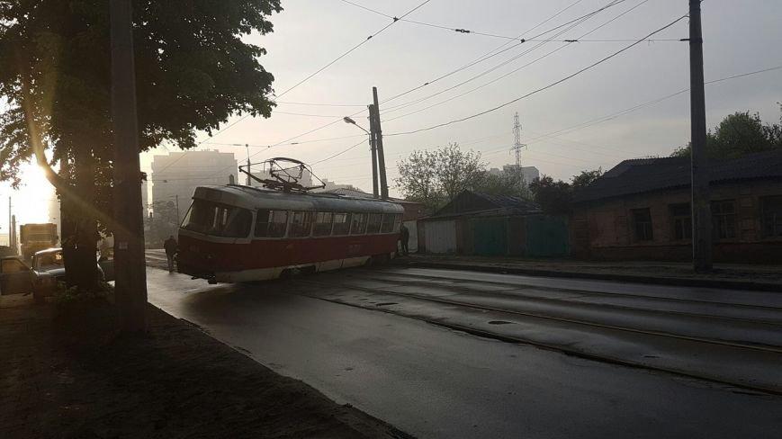 В Харькове трамвай