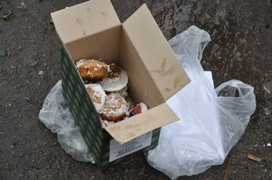"""Центр Краматорска """"заминировали"""" ... пироженками, фото-4"""