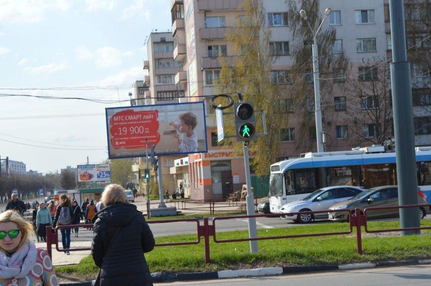 Вблизи закрытого подземного перехода в Витебске пешеходам приходится бегом пересекать проезжую часть, фото-1