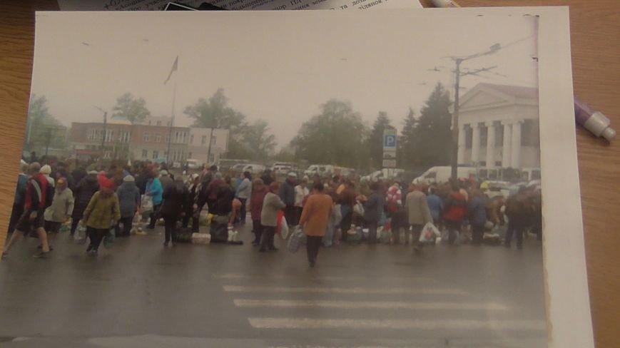 Депутат пропонує замість стихійного ринку на Південному вокзалі облаштувати меморіал жертвам нацизму (фото) - фото 1