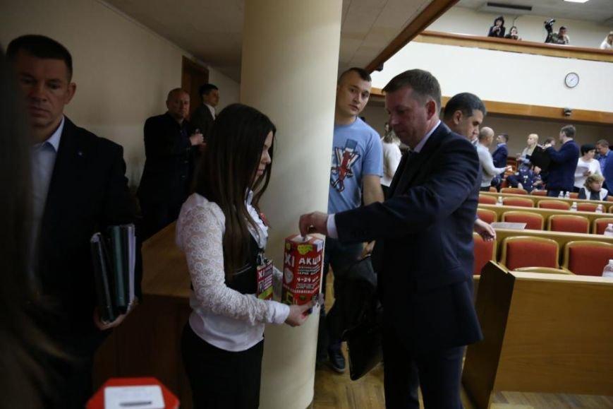 """Во время сессии Кременчугского горсовета волонтёры акции """"Сердце к сердцу"""" собрали 4 262 гривны, фото-2"""