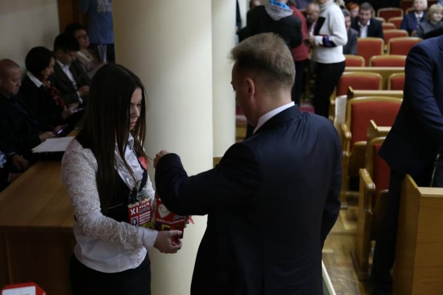 """Во время сессии Кременчугского горсовета волонтёры акции """"Сердце к сердцу"""" собрали 4 262 гривны, фото-1"""