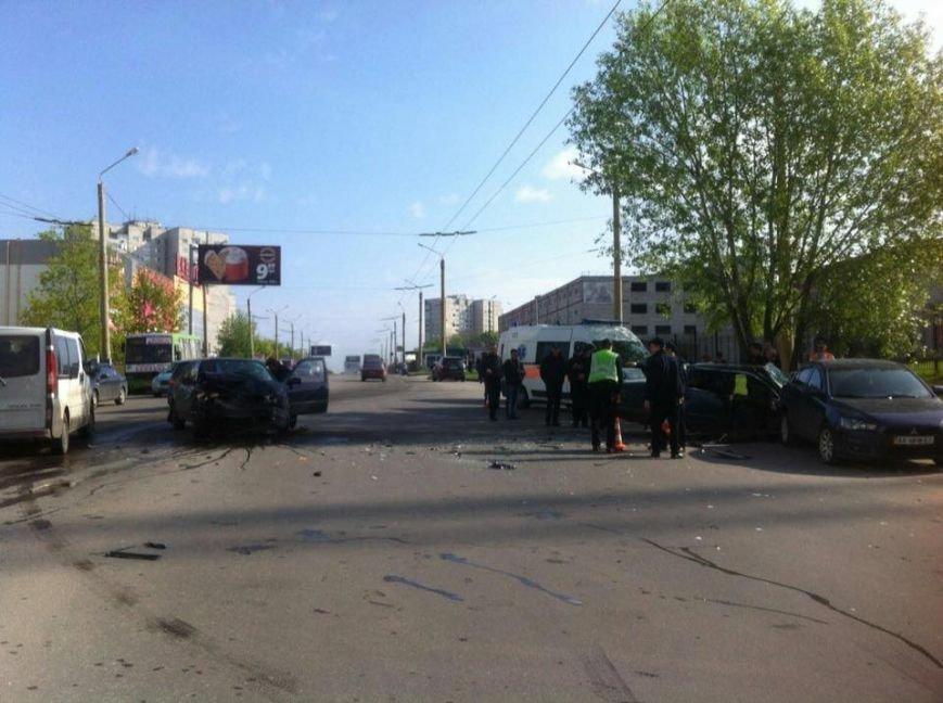 В Харькове пьяный водитель
