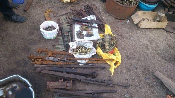 Еще одну «коллекцию» боеприпасов выявили черниговские полицейские (фото) - фото 1