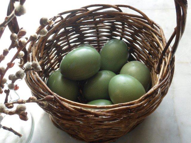 Красим яйца к Пасхе натураьными красителями (фото) - фото 5