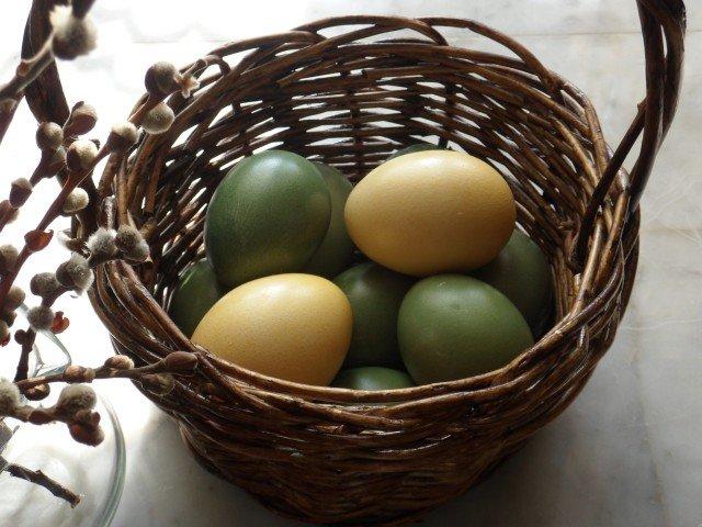 Красим яйца к Пасхе натураьными красителями (фото) - фото 2
