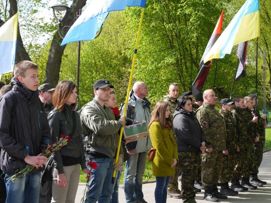 У парку Топільче буде алея на честь загиблих в АТО Героїв Тернопільщини (Фоторепортаж) (фото) - фото 1
