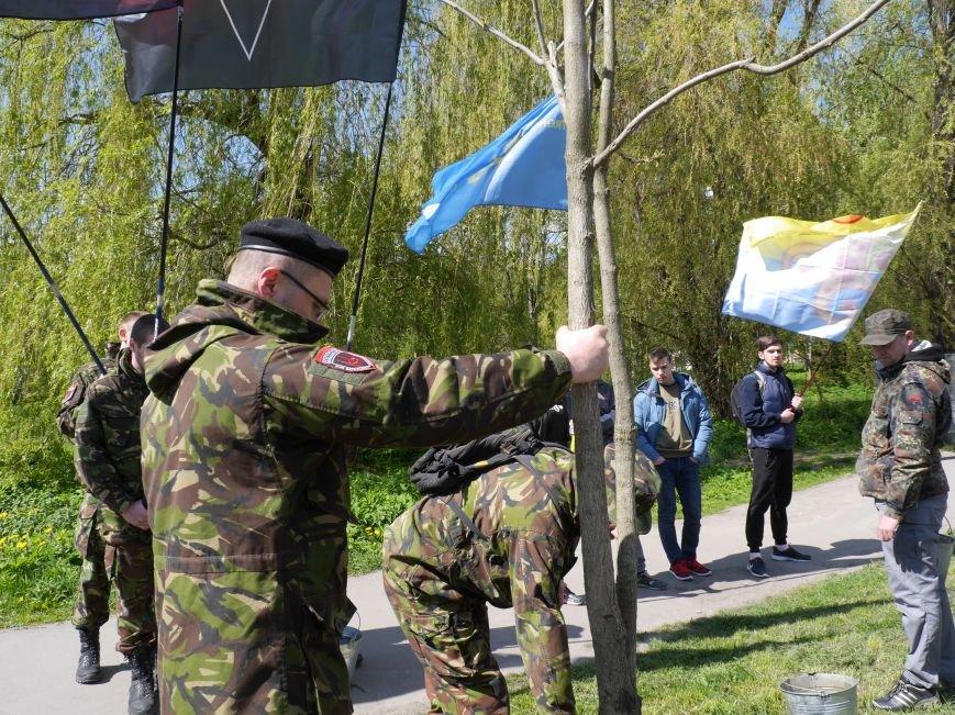 У парку Топільче буде алея на честь загиблих в АТО Героїв Тернопільщини (Фоторепортаж) (фото) - фото 3