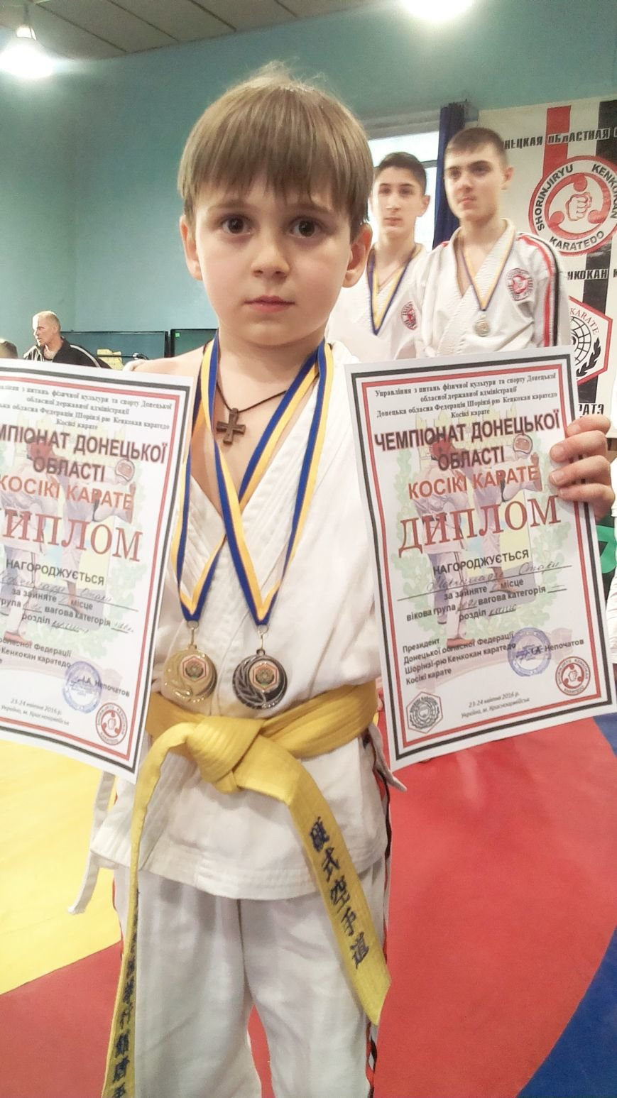 Спортсмены Красноармейска  (Покровска) и Димитрова (Мирнограда) стали лучшими в областном Чемпионате по косики каратэ (фото) - фото 5