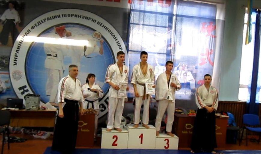 Спортсмены Красноармейска  (Покровска) и Димитрова (Мирнограда) стали лучшими в областном Чемпионате по косики каратэ (фото) - фото 3