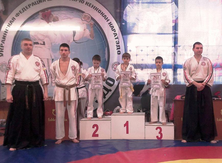 Спортсмены Красноармейска  (Покровска) и Димитрова (Мирнограда) стали лучшими в областном Чемпионате по косики каратэ (фото) - фото 1